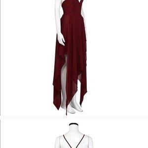 Amy Fashion Dresses - Burgandy dress NWOT